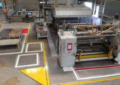 Marquage sol UV Industrie 4