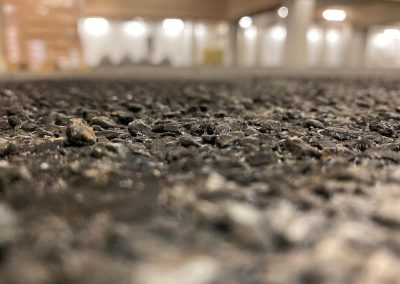 revetement parking support asphalte