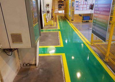 worldfloor resine sol revetement industrie coating luxembourg marquage uv 17